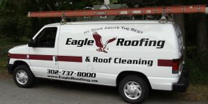 Eagle Roofing truck photo